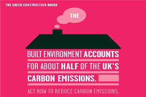 Green Construction Board publishes carbon emissions routemap