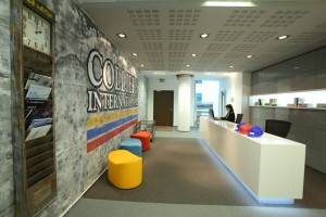 Colliers uses Bucharest HQ to showcase office design for Generation Y