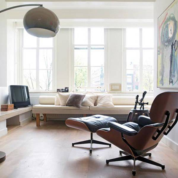 Charles Eames Lounge Stoel.How Charles Eames Came To Have Mixed Feelings For His Most Famous