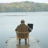 Almost half of UK workers now work remotely for half the time, claims poll
