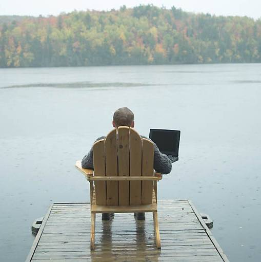 Remote working boosts self-employed flexibility and productivity