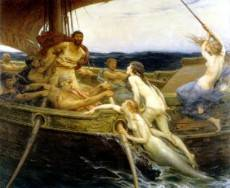 Herbert James Draper: Ulysses and the sirens