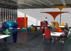 PopUP concept by Cincinnati School of Architecture and Interior Design