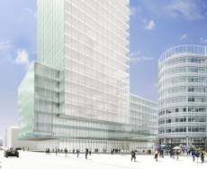 Plans submitted for 19 storey tower in Manchester business district