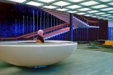 General Motors Technical Center designed by Eero Saarinen in 1956