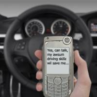 Using a mobile phone while driving is now commonplace for UK managers, claims survey