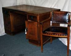 How Adolf Hitler's desk came to be modified and used for another fifty years