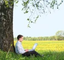Where office workers would really like to work? Outdoors.