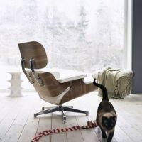 Lounge Chair & Ottoman Hocker Algue