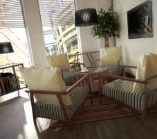 Flexible working lounge