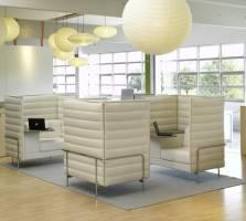 Vitra Alcove office design