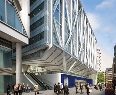 £16.5m deal for office development at Moorgate Crossrail station confirmed