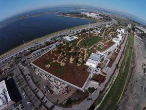 Mark Zuckerberg's aerial shot of the new campus