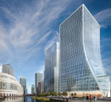 Planning permission granted for two major towers at Canary Wharf