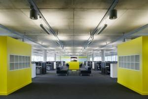 Talk Talk offices by Morgan Lovell