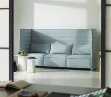 Alcove Plume Contract Metal Side Table workplace of the future