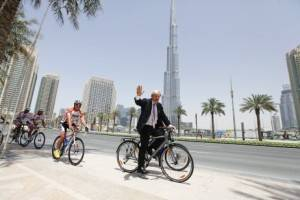 Boris Johnson Dubai