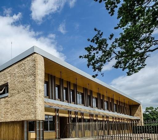 Construction work completes on UK's greenest commercial building