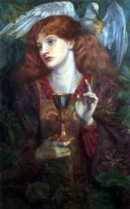 The Damsel of the Sanct Grael by Dante Gabriel Rossetti