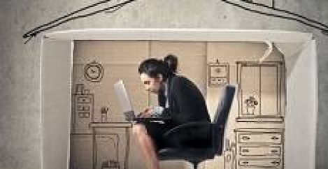 Many employers discourage home working, unless it is out of hours