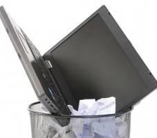 Laptop-bin