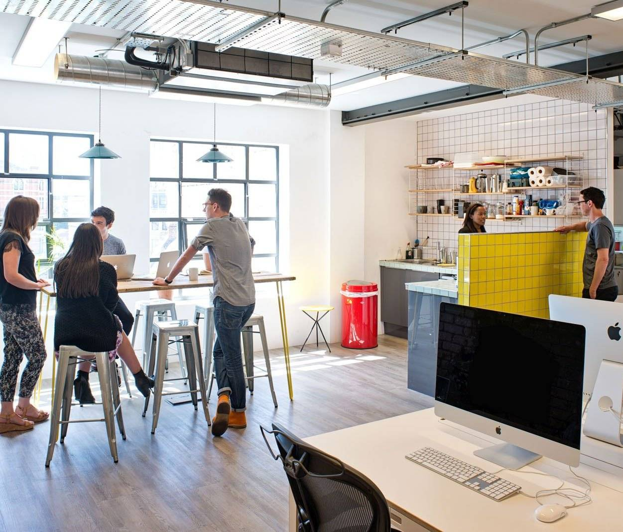 Beyond branding – how workplace design can express a firm's culture