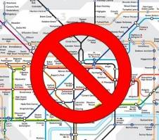 agile workers tube strike