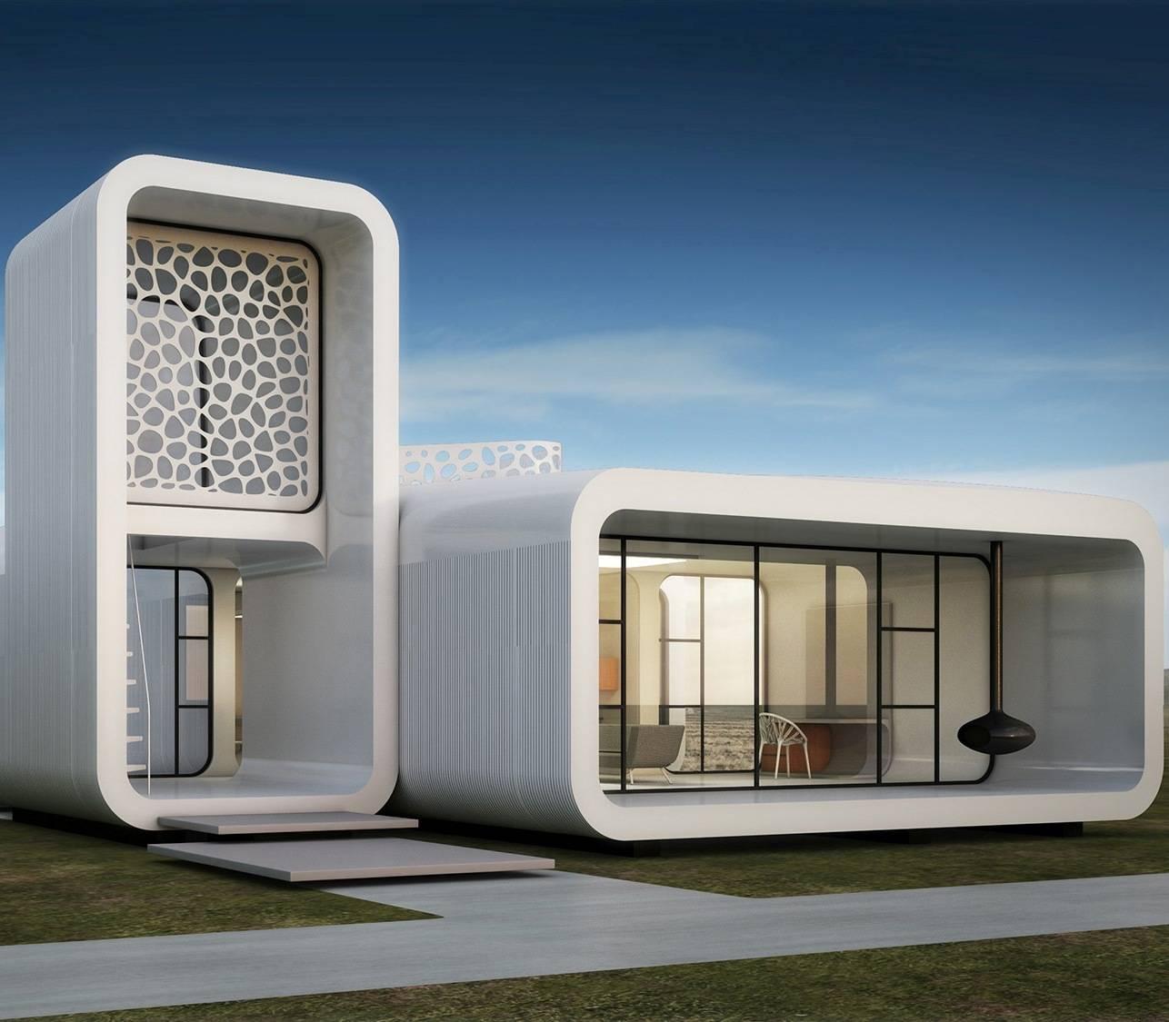 Dubai edificio interamente costruito con stampante 3D