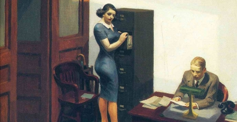 The seven greatest depictions of the workplace in art. Possibly.