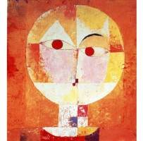Senecio by Paul Klee who had some interesting things to say about creativity