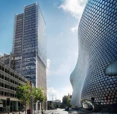 Cranes dot Birmingham skyline as city hits 13 year development high
