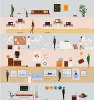 The growth of agile working and the softening of workplace design