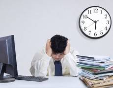 Stressed and overweight staff