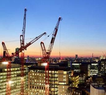 Office construction at highest level in London for eight years
