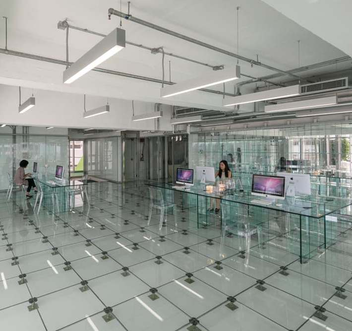 What Happens When You Take Transparent Office Design To