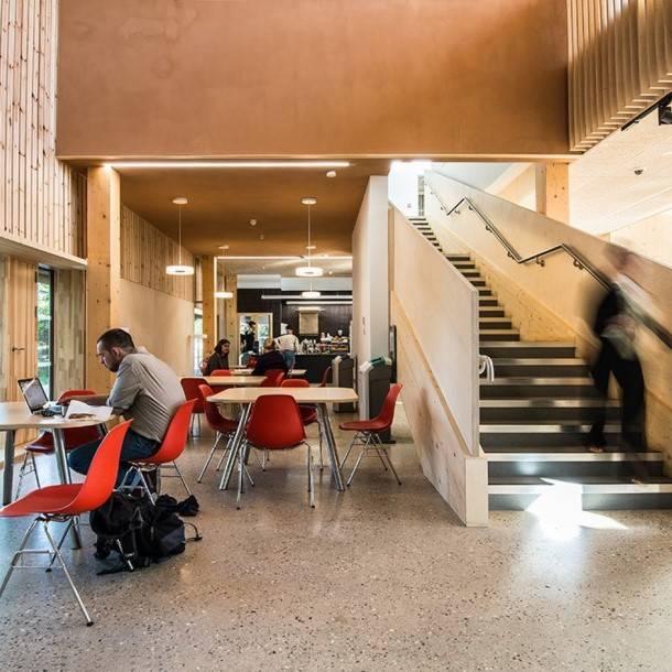 Enterprise Centre Interior Lobby Architype Darren Carter Morgan