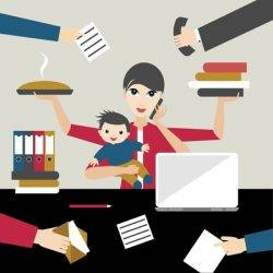Flexible working mothers more likely to do most unpaid hours