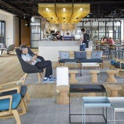 flexible working at the office of Google