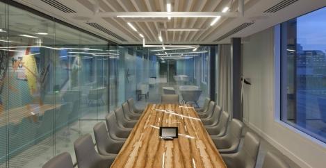 Penson completes design for artful London HQ of financial services company SEI