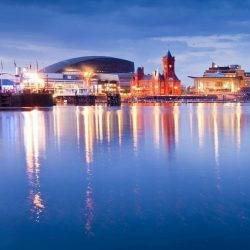 Cardiff. Wales is the region of the UK with the lowest productivity