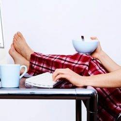Majority of people who routinely work from home don't do so ergonomically