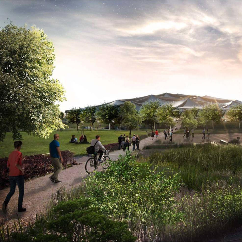 Google reveals latest designs for new California headquarters