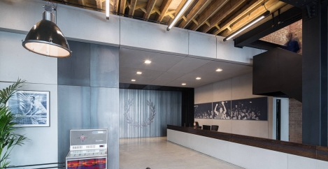 Overbury delivers new head office for iconic British brand Fred Perry