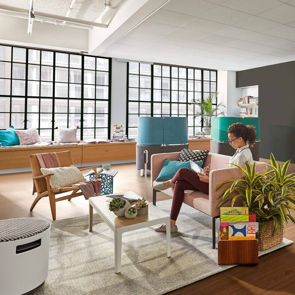 Settings and serendipity define workplace design at Clerkenwell Design Week