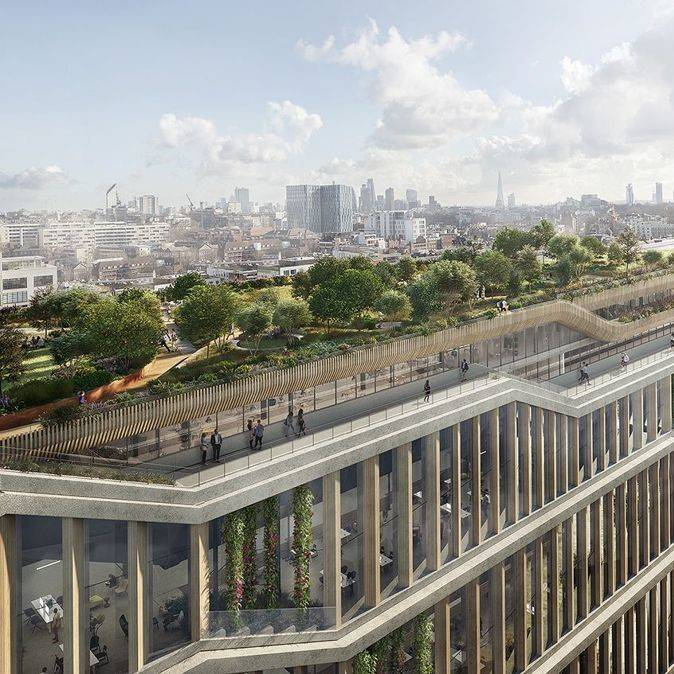 Google submits revised plans for vast new campus in London