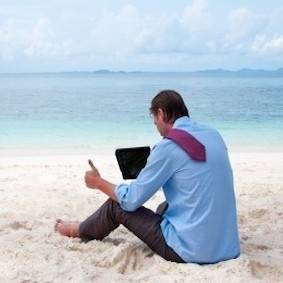 Freelancers and small business owners find it impossible to stop working on their holidays