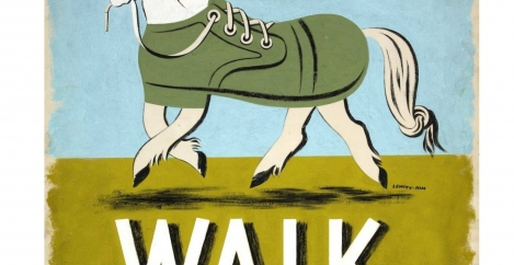 The most productive thing you may do today is go for a walk
