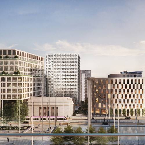 The government announces a major new office for public servants in the WestMidlands