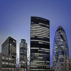 London commercial property skyline