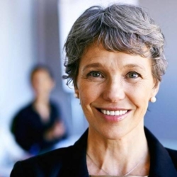 Higher female state pension age causes an increase in older women at work